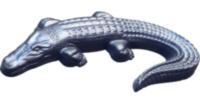 "ABS mould (form) Decorative item ""Crocodile"""