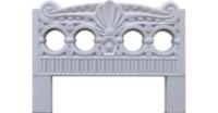 Fencing ABS mould (form) 5